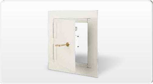 Karp Registro para muros seguridad DSB123SD Ecarsa