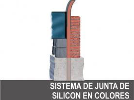 Sistema Junta de Silicón en Colores