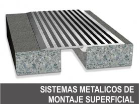 Sistema Metálico de Montaje Superficial
