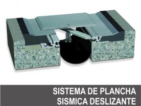 Plancha Sísmica Deslizante