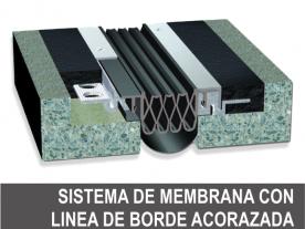 Membrana con Linea de Borde Acorazada